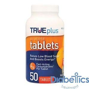 Nipro - P1H01RN50 - TRUEplus Glucose Tablets 50 count, Orange