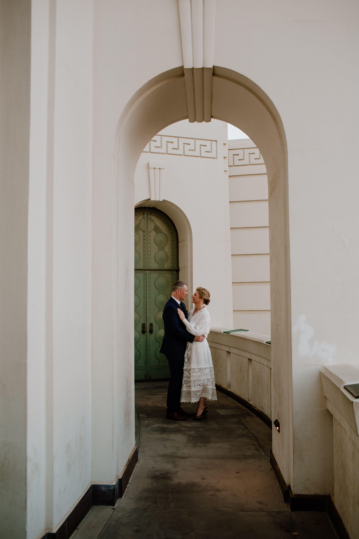 Griffith Observatory Elopement Wedding Wedding Locations California California Wedding Los Angeles Engagement Photos