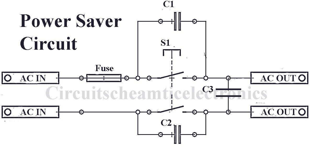 home power saver circuit diagram 1989 volvo 240 radio wiring simple 2 pinterest wearable