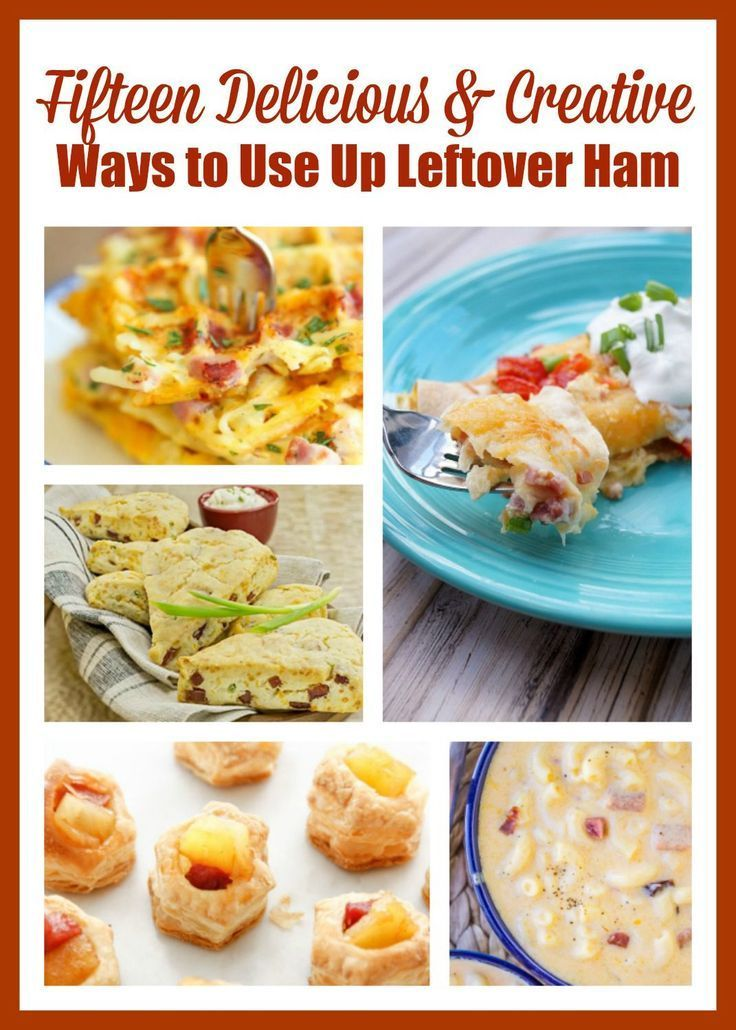 Fifteen Creative Ways To Use Leftover Ham Plus Check Out My Post On