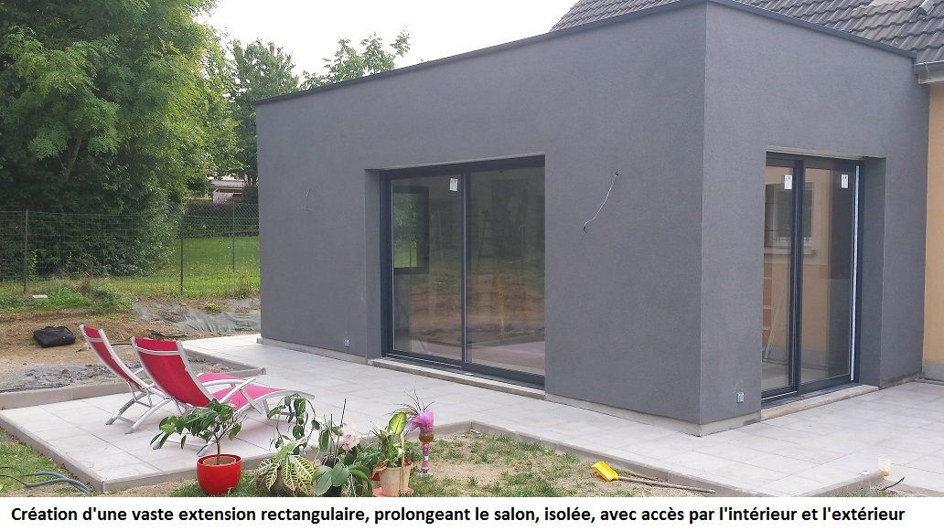 Www eclorraine com constructions extension renovation for Cube agrandissement maison