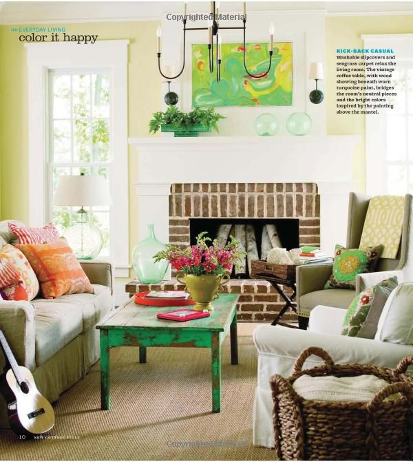 New Cottage Style Decorating Ideas For Casual Comfortable Living Better Homes Gardens Cottage Style Living Room Family Room Decorating Living Room Designs