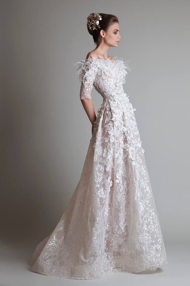 5 Timeless Wedding Dresses from Krikor Jabotian | Wedding Dresses ...