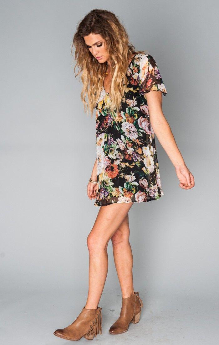 Kylie Mini Dress ~ Madame Fleur