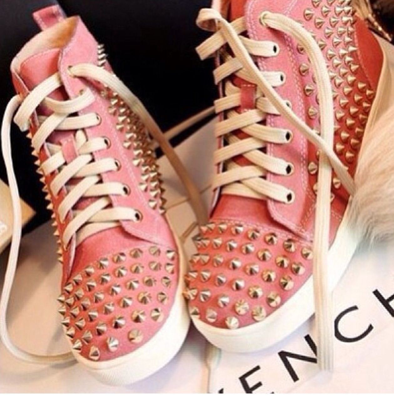 Studded Sneakers #Givenchy