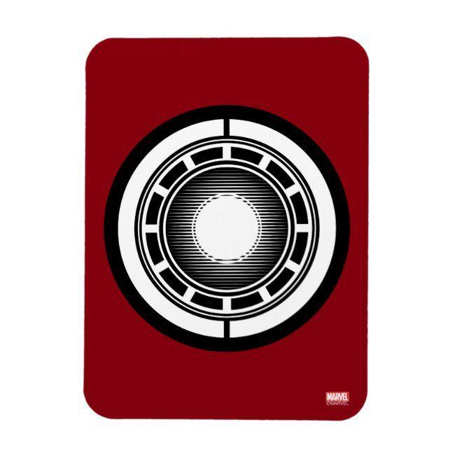 Iron Man Arc Icon Magnet
