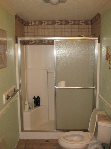 Fiberglass Shower With Wall Tile ~ http://lanewstalk.com ...
