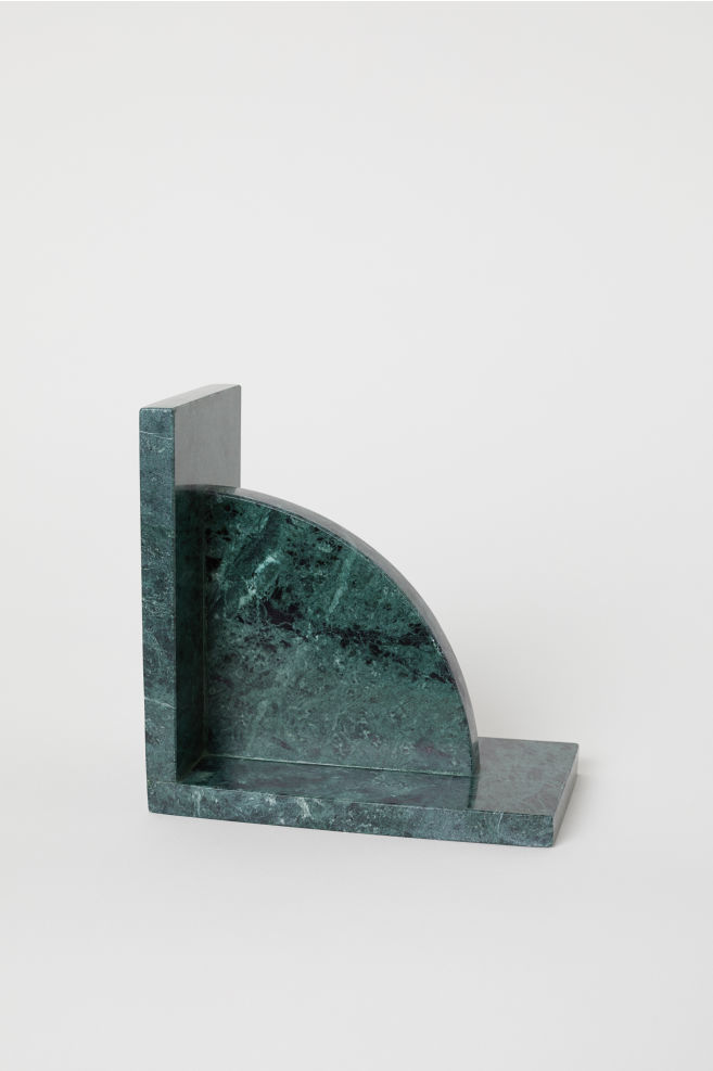 Marble Bookend Bookends Green Marble H M Home