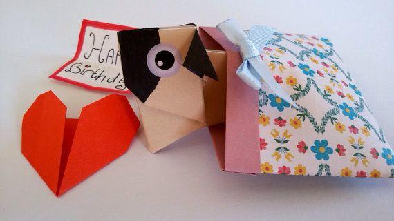 Pop Up Pug Birthday Card Pug Card Cute Pug Girlfriend Pug Love