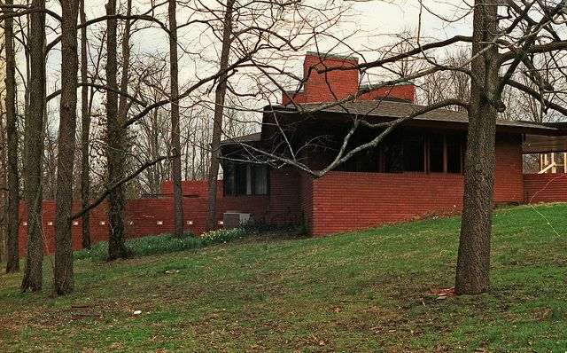 pappas house st louis usonian frank lloyd wright and lloyd wright. Black Bedroom Furniture Sets. Home Design Ideas