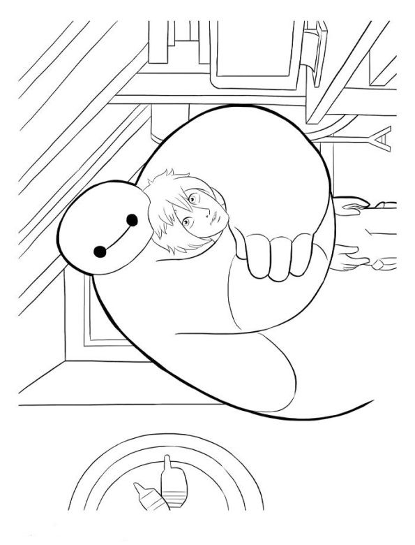 35 Coloring Pages Of Big Hero 6 On Kids N Funco
