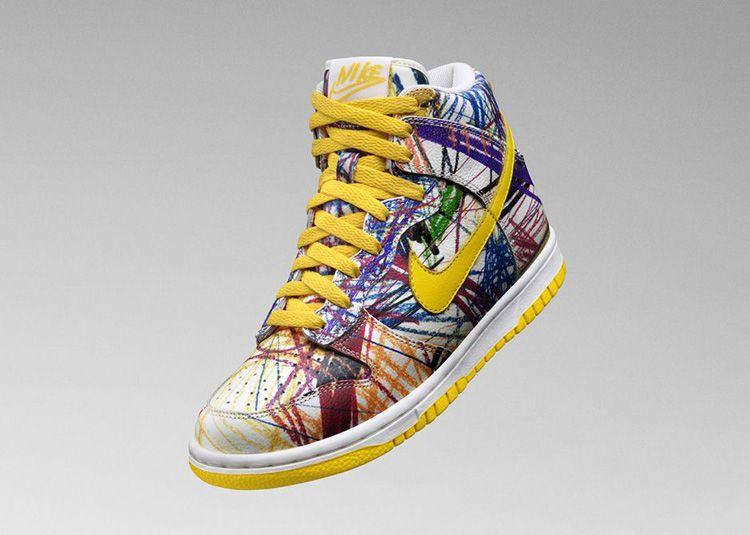 nike dunk high gs scribble stuff to buy nike dunks nike sneakers rh pinterest com