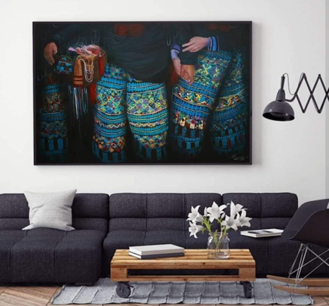 Mien Painting For Selling Mien Art Work 140 150 Cm On Canvas 1 000