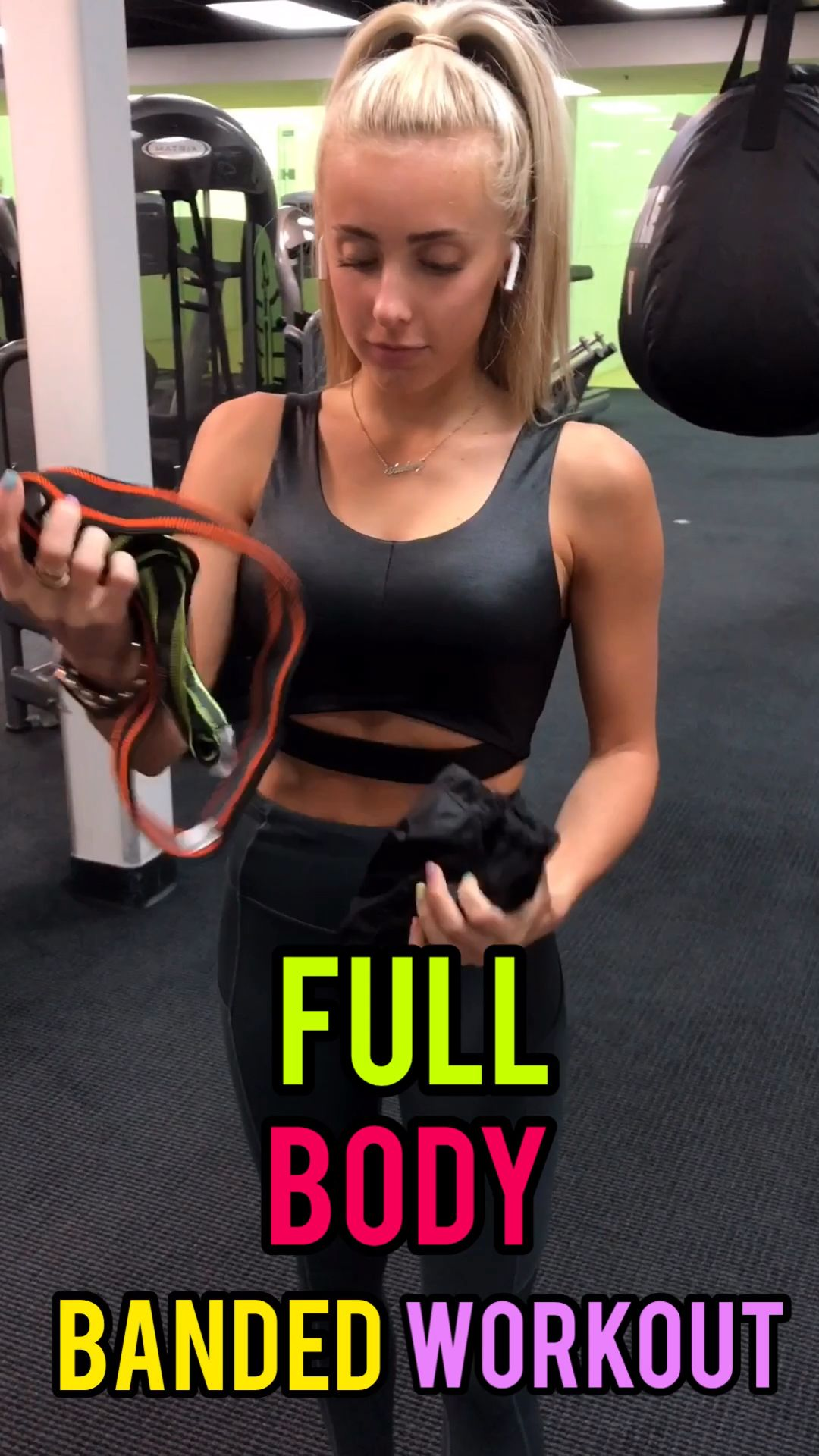 Full Body Banded Workout  #armbandworkouts