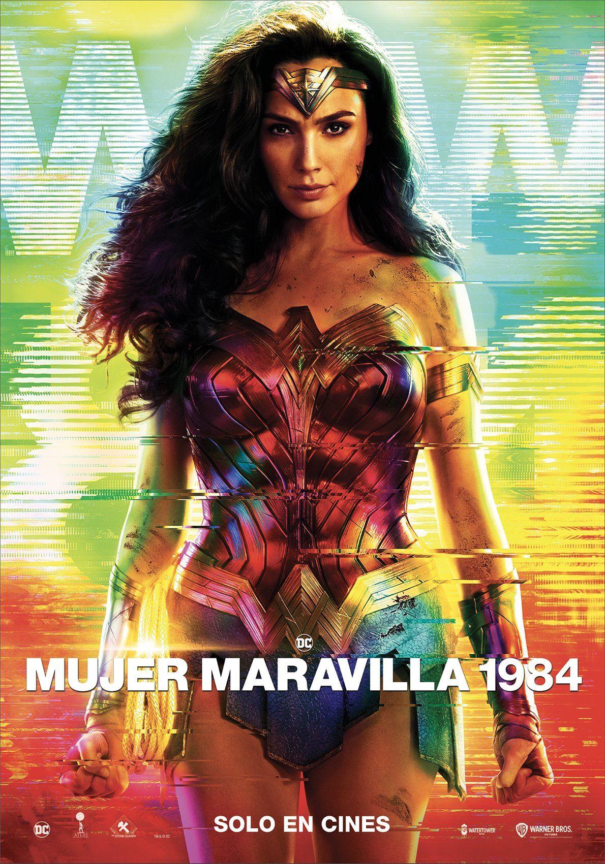 Mujer Maravilla 1984 Poster Final Wonder Woman 1984 Movie Gal Gadot