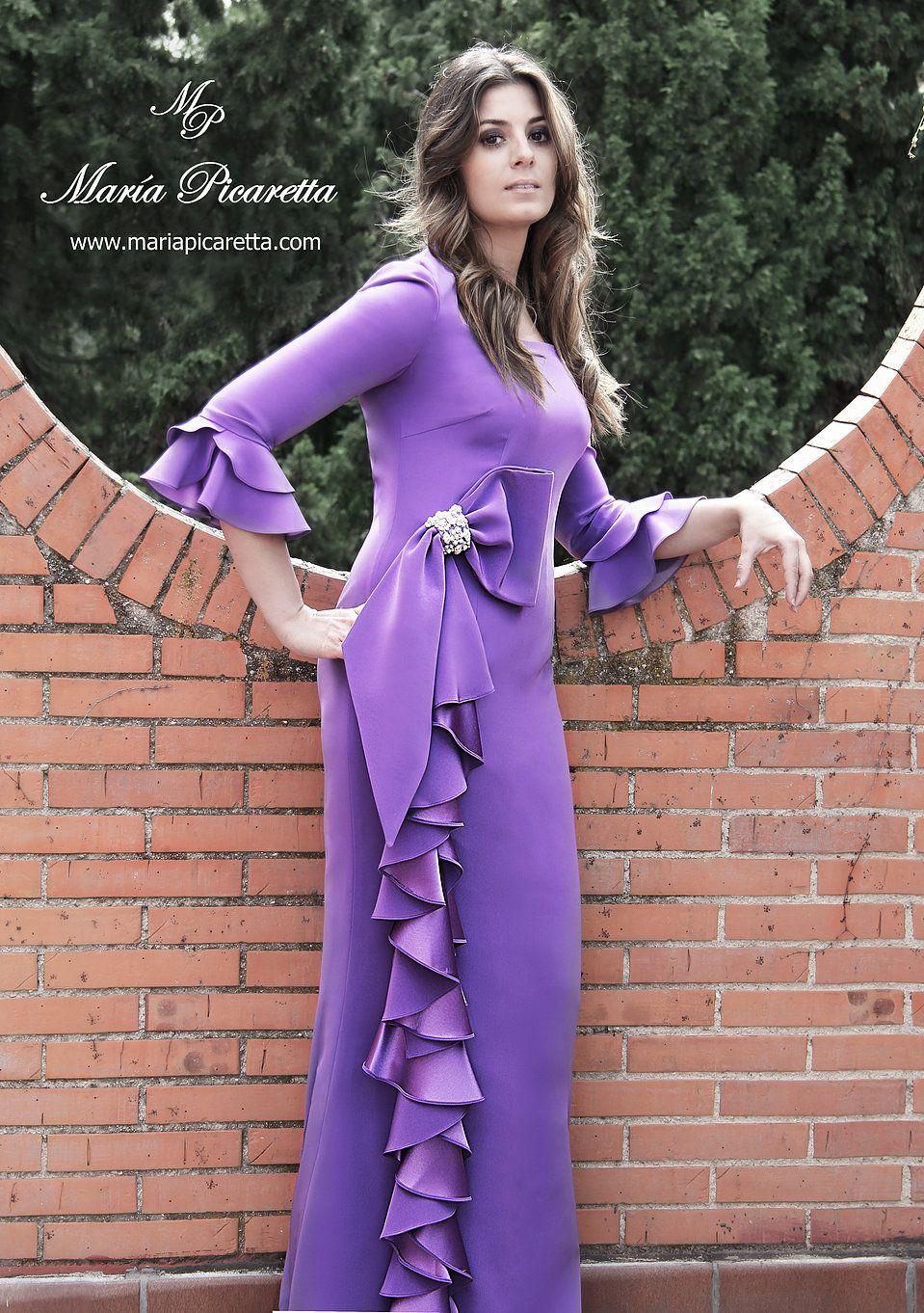 Vestidos de Fiesta. María Picaretta | Charity 17 | Pinterest ...