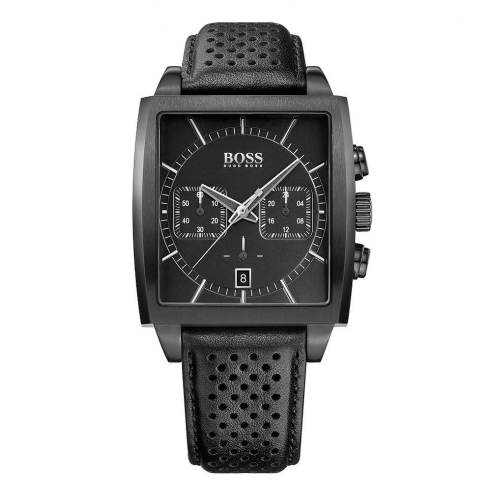 7781585fa71d HUGO BOSS WATCHES Hugo Boss Black Square Dial Watch - Accessories from  Brother2Brother UK