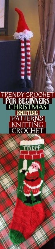 Photo of Trendy Crochet For Beginners Christmas Knitting Patterns Knitting Crochet & tren…