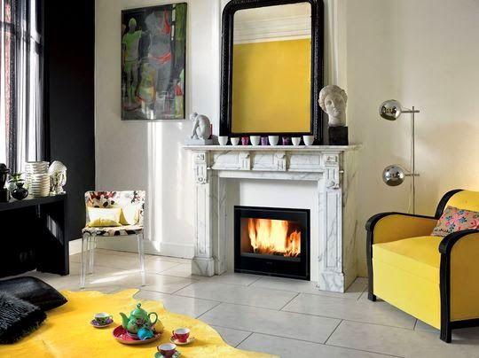 Ideas para decorar con chimeneas El invierno, Me gustas demasiado