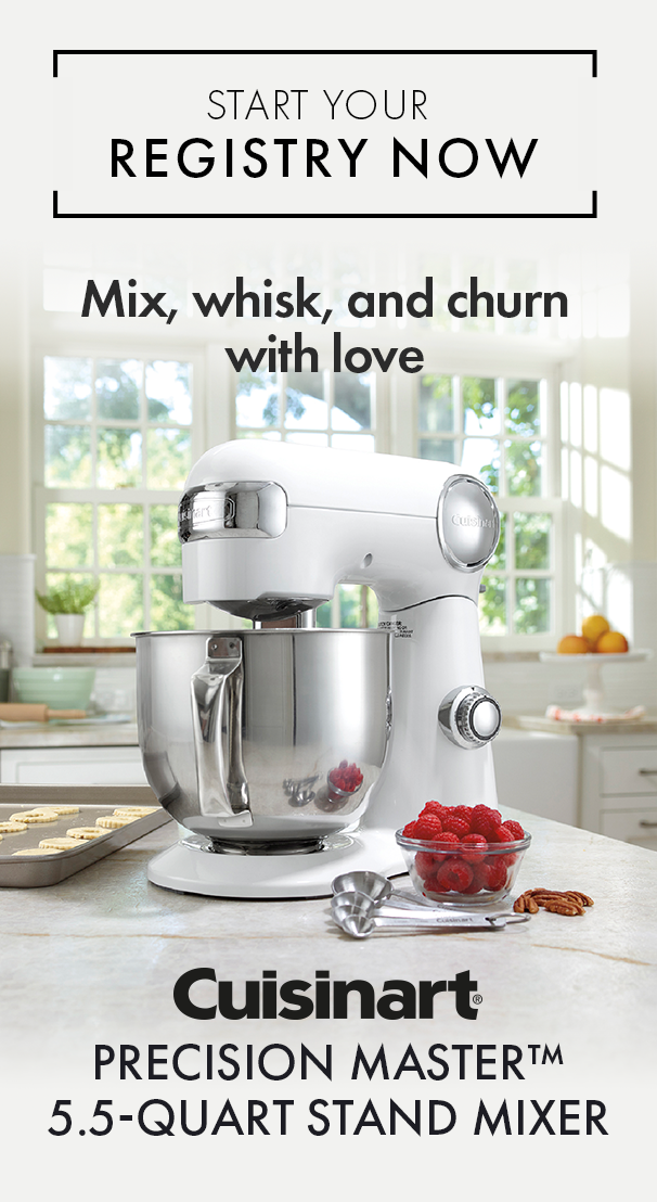 Mix Whisk And Churn With The Cuisinart Precision Master Stand Mixer Start Your Registry Today Mixer Kitchen Accesories Stand Mixer