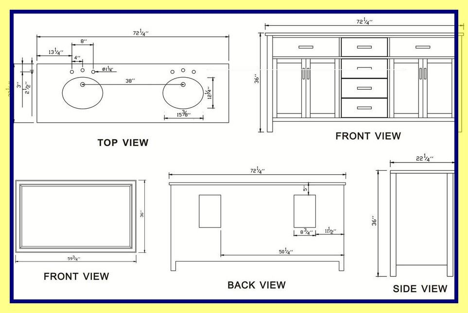 81 Reference Of Standard Kitchen Sink Cabinet Size Di 2020 Wastafel Kamar Mandi Kamar Mandi Kecil Sweet Home