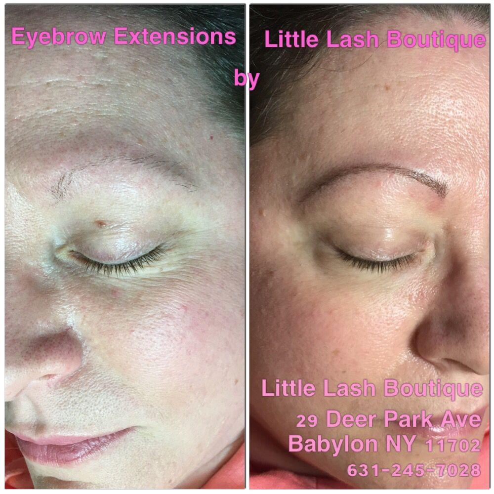 Eyebrow extensions New York. Babylon New York. Little Lash ...
