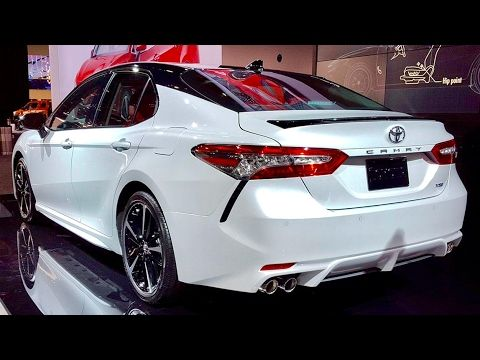 2018 Toyota Camry Xse Redline First Look 2017 Naias Youtube Toyota Camry Classy Cars Camry