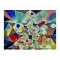 City Crowded with a Temple, 1917 By Paul Klee: Category: Art Currency: GBP Price: GBP45.00 Retail Price: 45.00 Cityscape European Abstract…