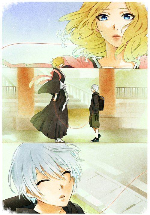 Anime Manga Bleach Characters Rangiku And Gin Don T Know What