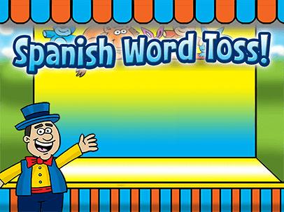 Spanish Word Toss | ABCya! | Spanish vocabulary, Spanish words ...