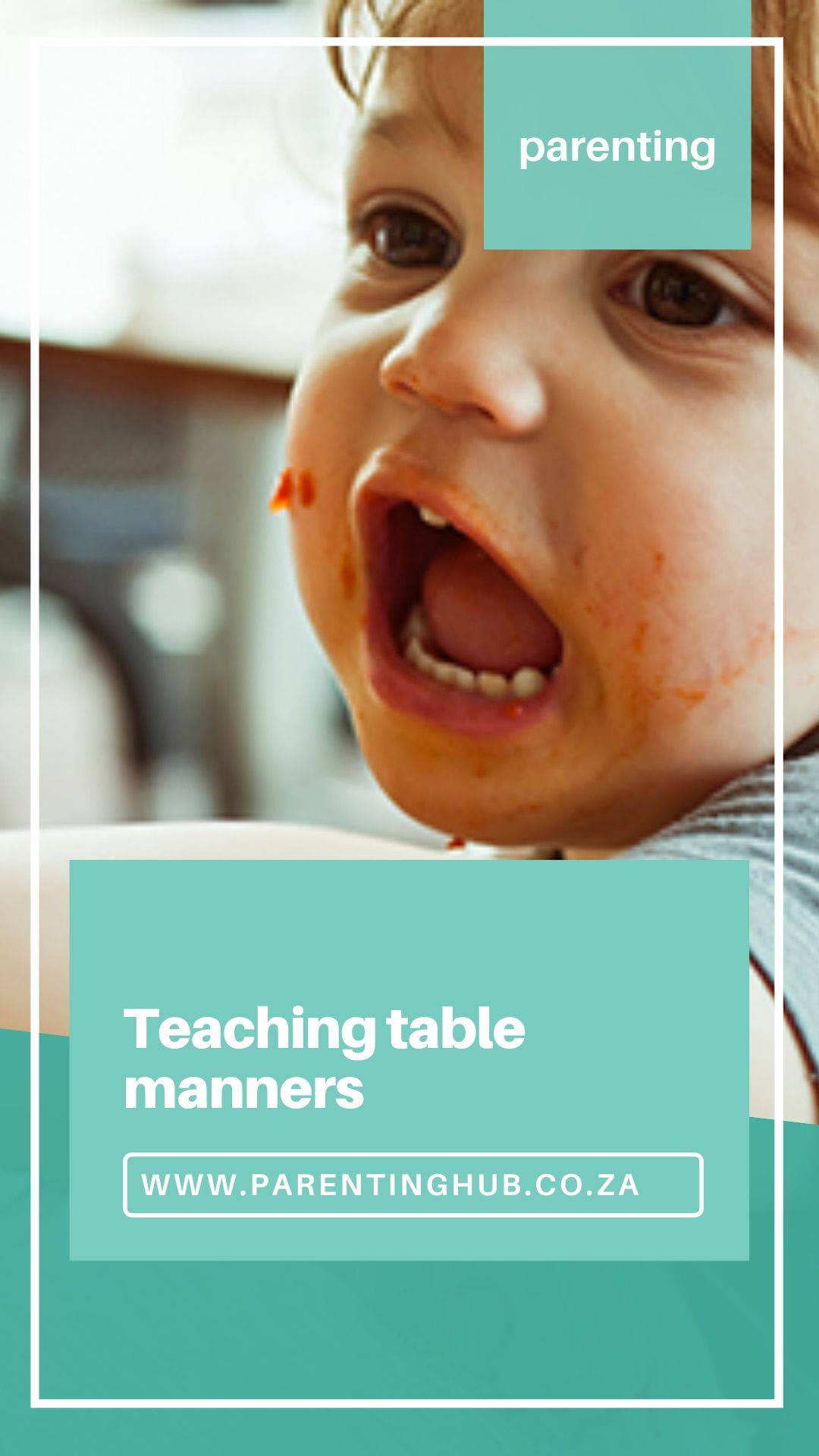 Teaching Table Manners Is Something Vital In My Home I M