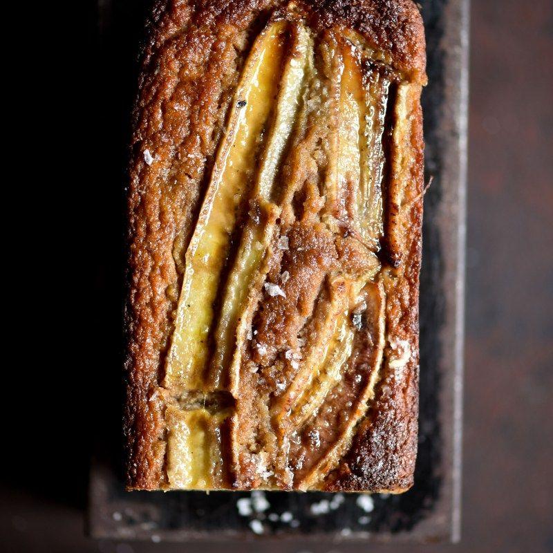 Cashew pulp banana bread (plus an easy formula for nut