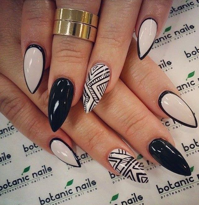 sexy stiletto nail designs for 2014 2015 hair and nails pinterest nail art designs nail. Black Bedroom Furniture Sets. Home Design Ideas