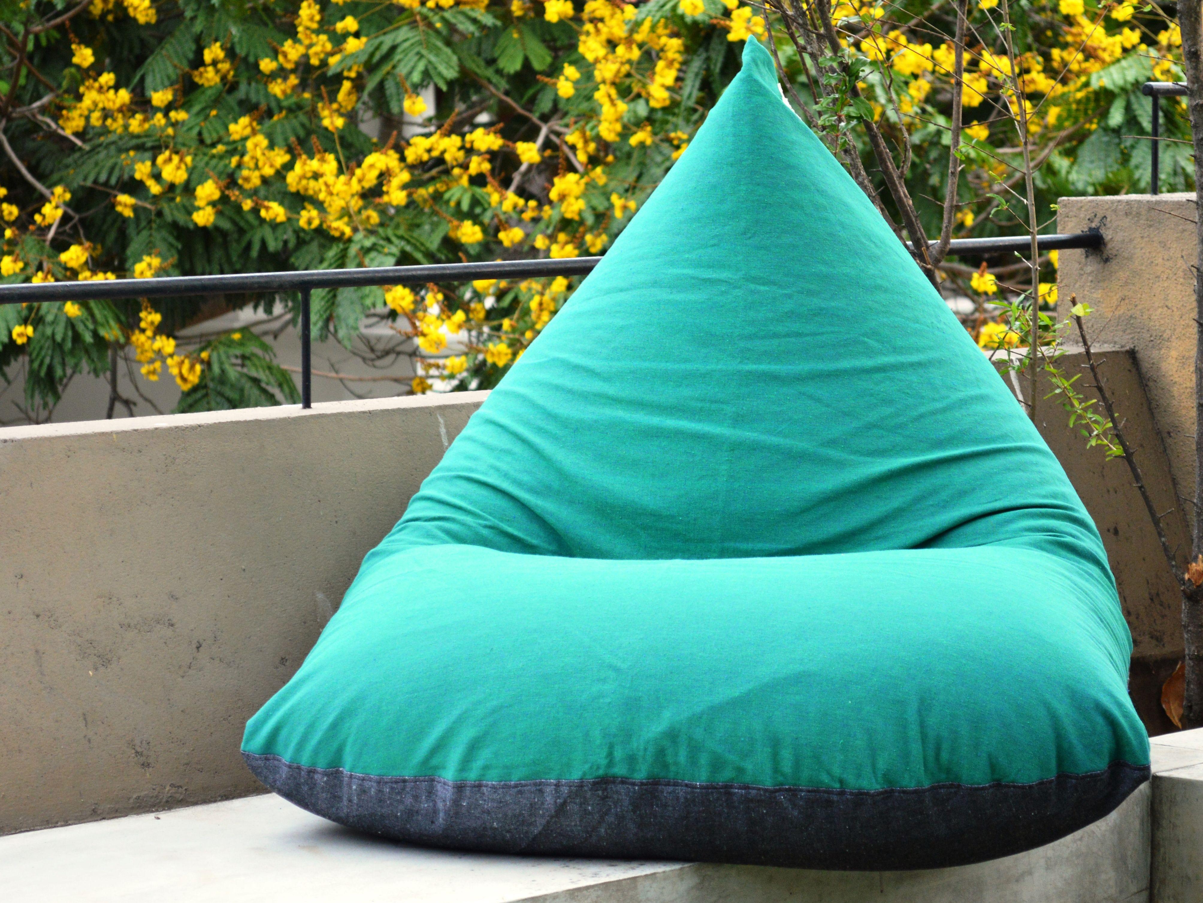 Tarchoal Handloom Bean Bag Chair
