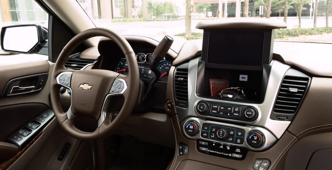 2019 Chevrolet Tahoe Dashboard Chevrolet Suburban Chevy