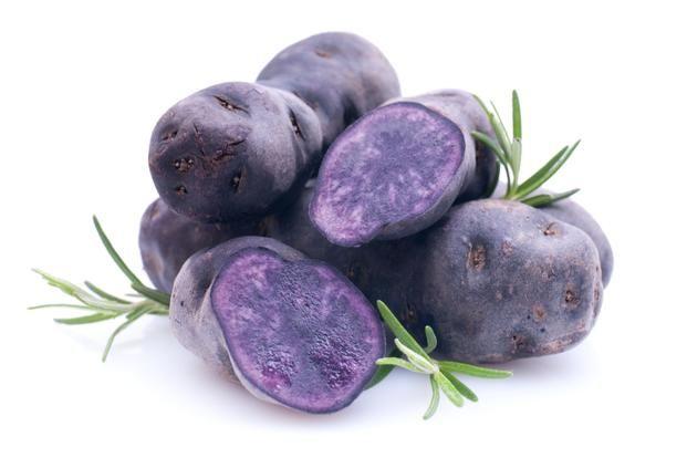 Fioletowa odmiana ziemniaków