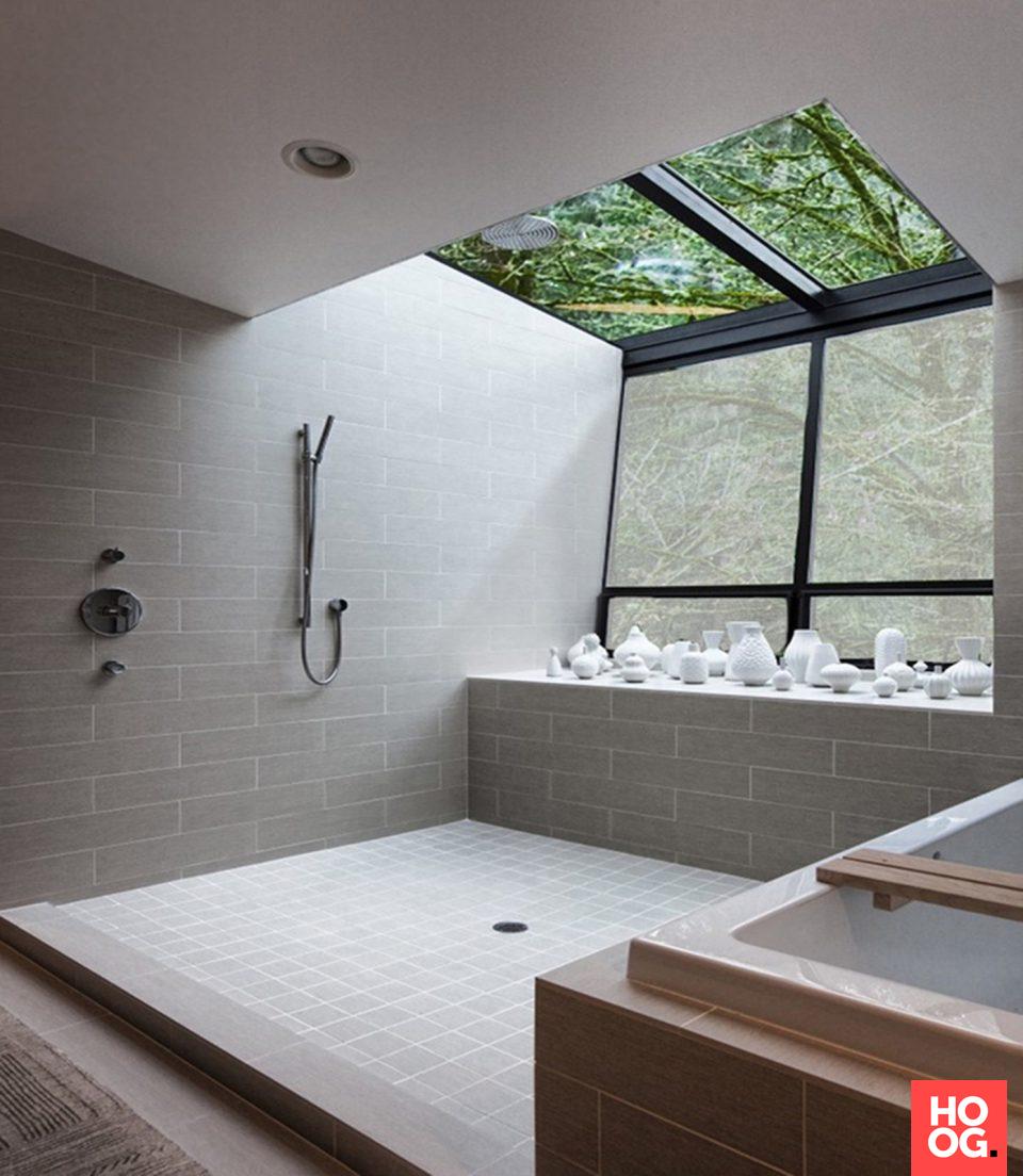 Luxe raamdecoratie voor wellness | badkamer ideeen | design ...