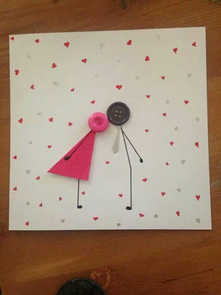 Anniversary Card Anniversary Cards Handmade Fabric Cards Birthday Cards Diy
