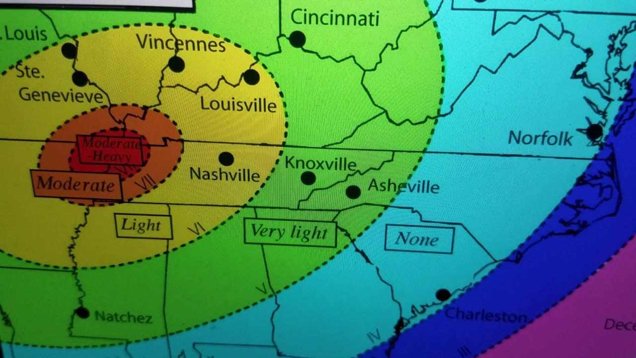 "Breaking ""Tennessee Quake Wakes New Madrid"" YouTube in"