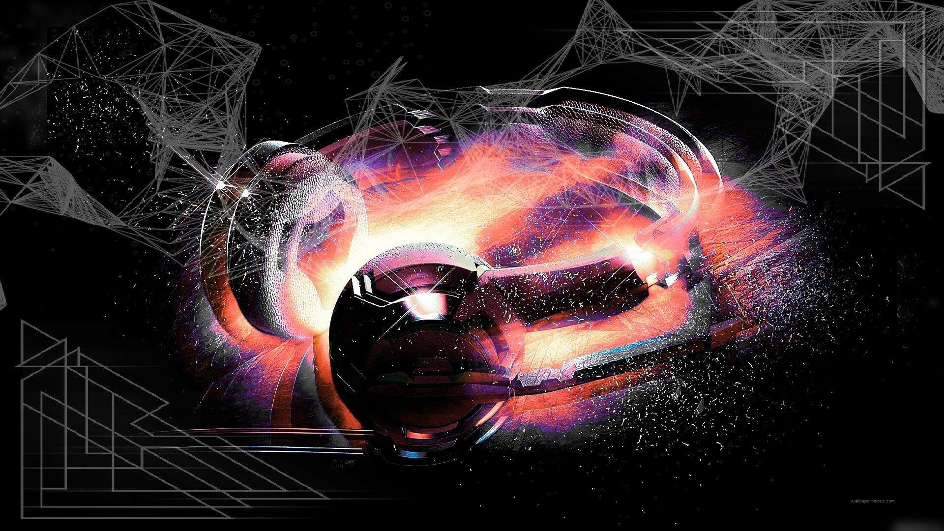 abstract headphone wallpaper | wallpaper studio 10 | tens of