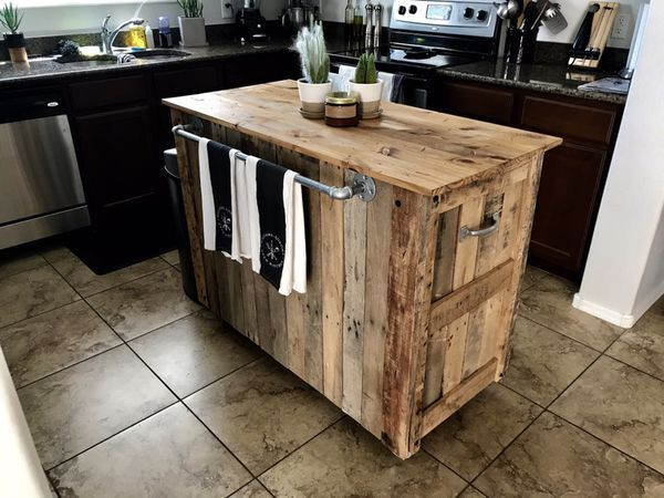 PRICE REDUCED TO SELL!!! Custom Built Kitchen Island (Furniture) in