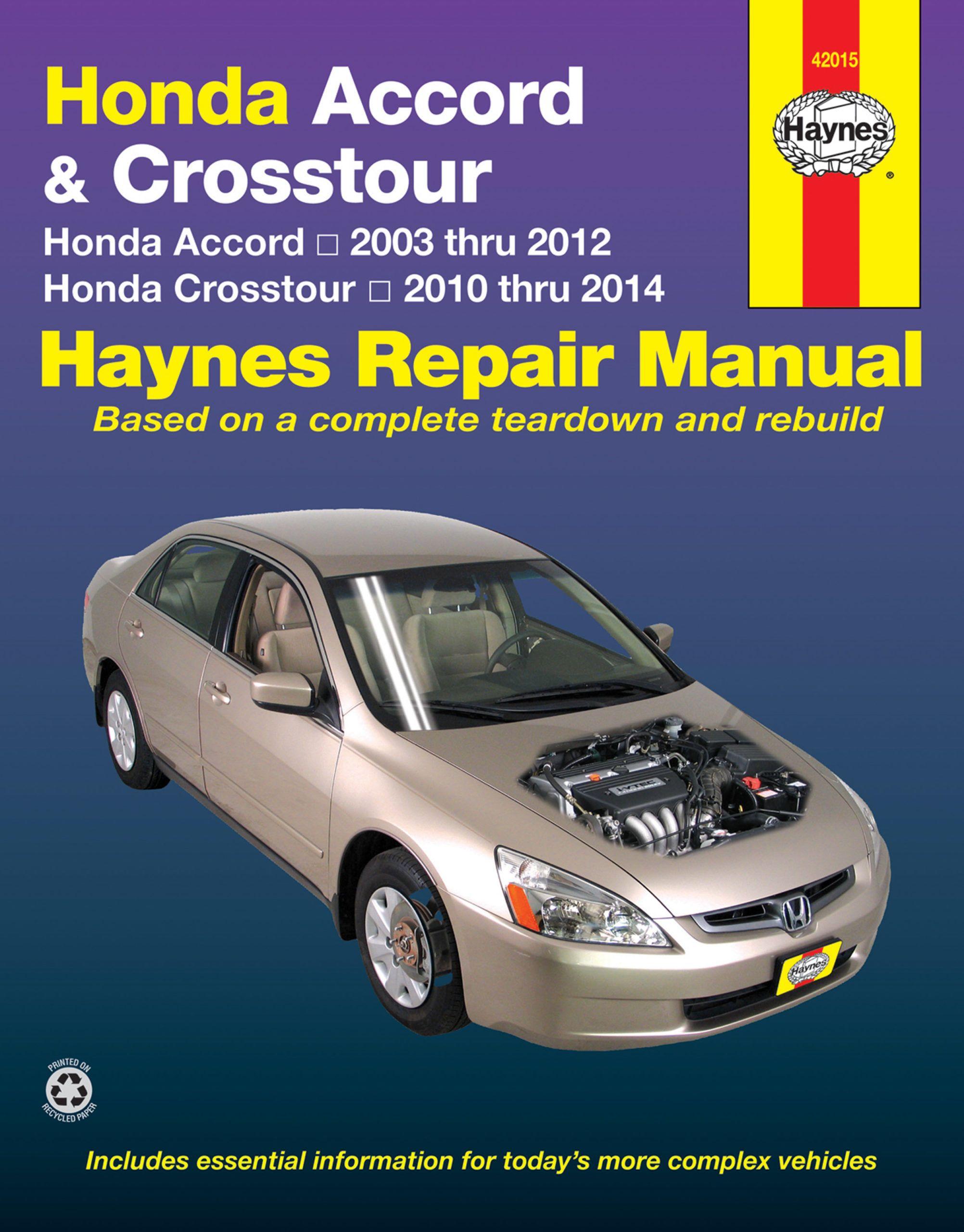Get The Best Service Manual Pdf 50 Off Today Honda Accord Honda Crosstour Repair Manuals