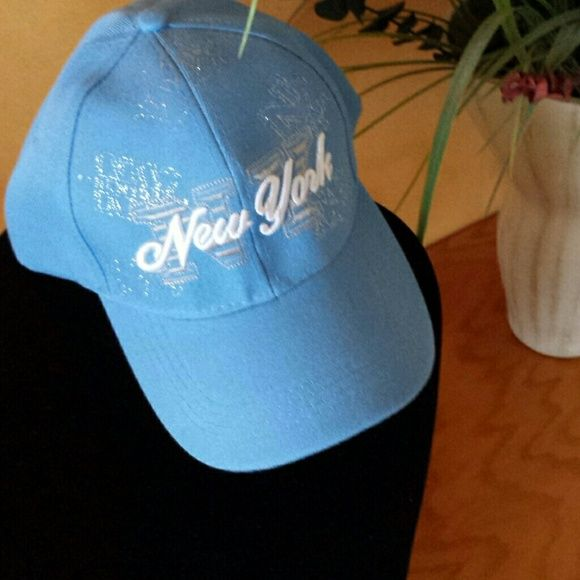 Hat Fancy New York  baseball  hat with NY embroidery in white never worn Accessories Hats