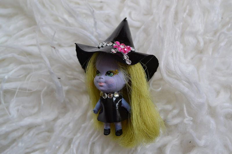Emididdle Liddle Kiddle Emerald the Enchanting Witch Kreation