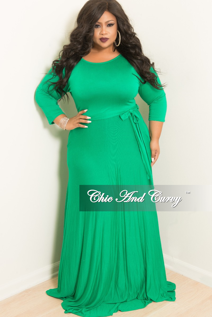 1471335a43a Plus Size 3 4 Sleeve Long Dresses - Gomes Weine AG