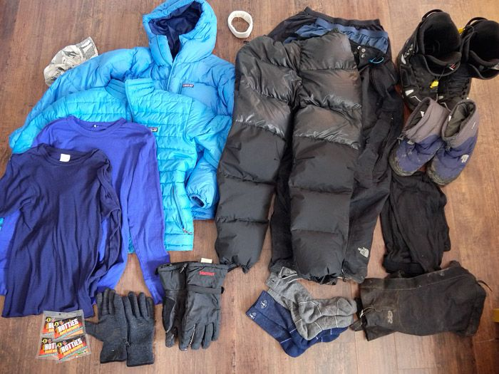 My Summer And Winter Backpacking Gear List