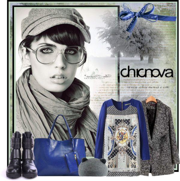 """CHICNOVA"" by katjuncica ❤ liked on Polyvore"