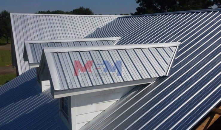 Licensed Contractor Serving Mississippi We Specialize In Metal Roofing Custom Decks And Much More Gallery Residential Metal Roofing Metal Roof Roof Paint