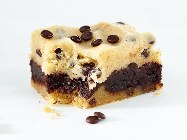 Cookie Dough Brownie Rezept Brownie Rezept Lecker Und Cookie Dough Rezept