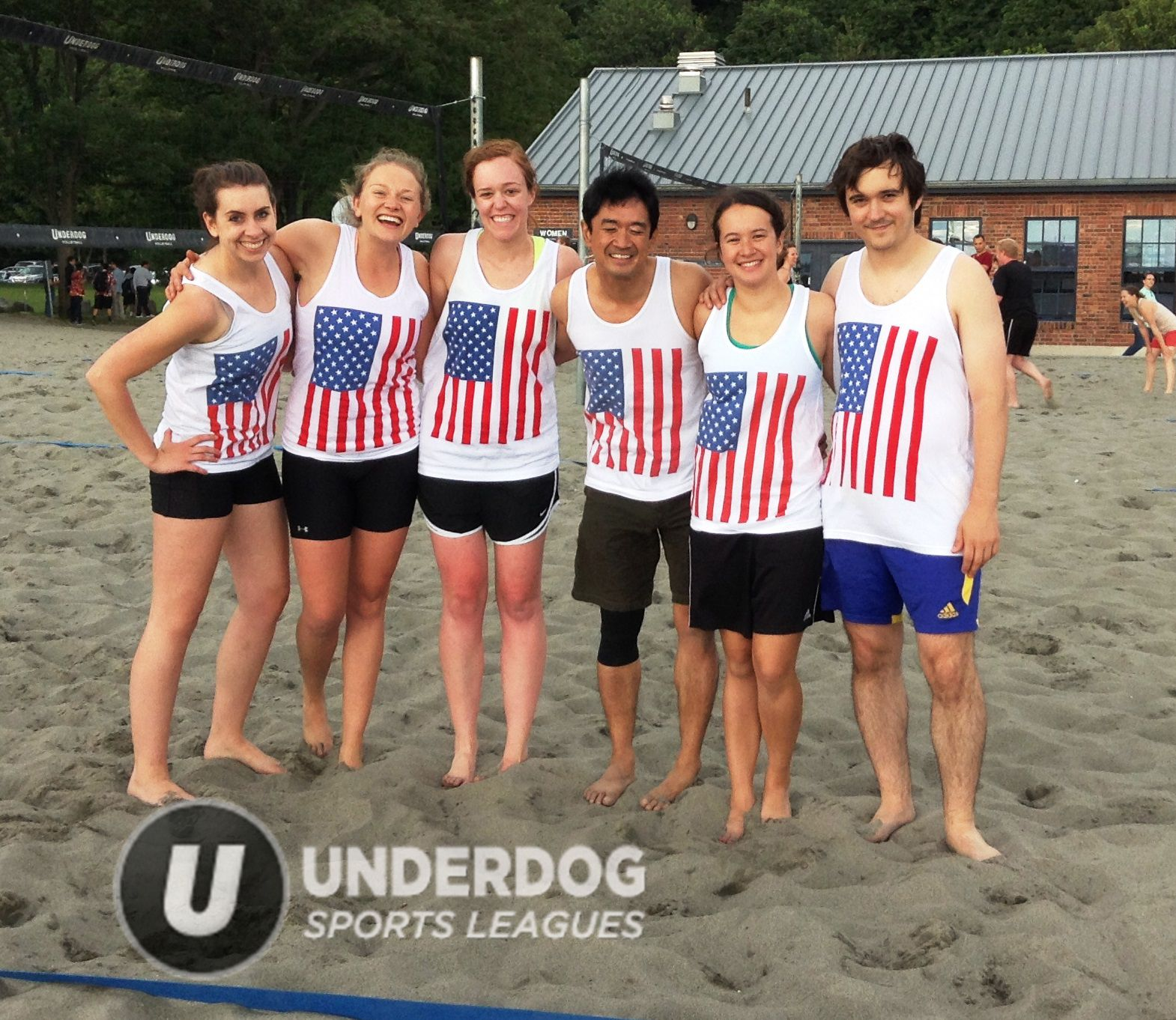 Patriotism For The Win Beach Volleyball Indoor Volleyball Team Photos